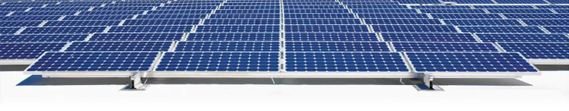 TPO Roofing with PV Solar Panels