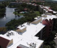 Apartment complex with EverGuard TPO roofing