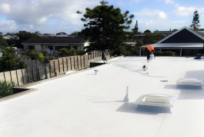 EverGuard TPO roofing with skylights