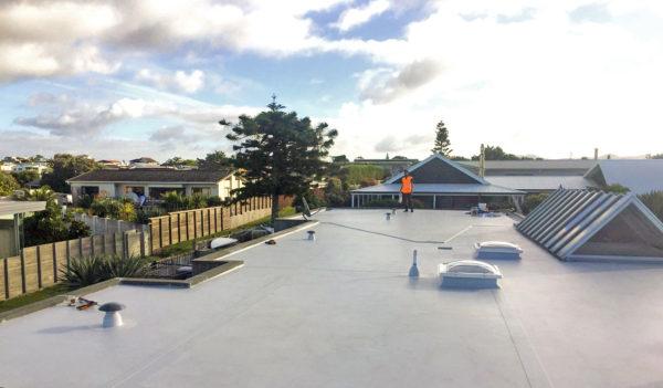 New Zealands Premium TPO roofing. GAF EverGuard TPO