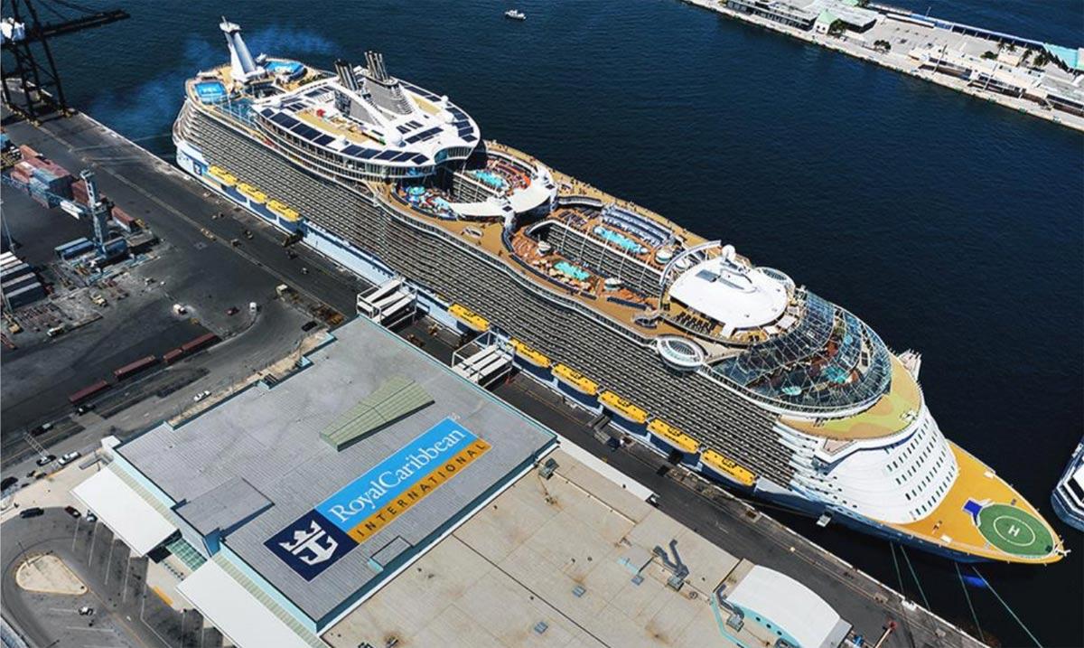 TPO on cruise ship