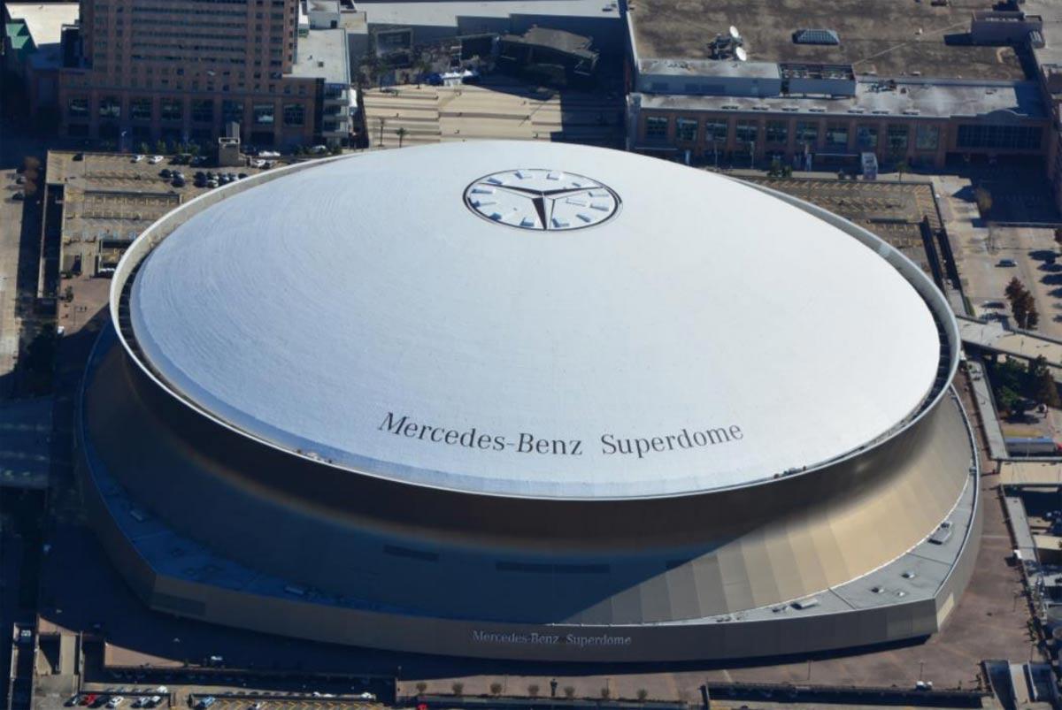 Mercedes super dome