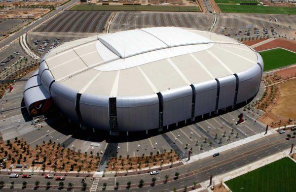 GAF EverGuard TPO roofing on stadium